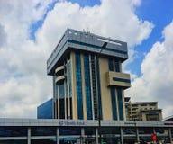 Skyscripers in het Ghana-Westen Afrika Hd royalty-vrije stock afbeelding