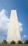 Skyskrapa för FN-Förenta Nationernasekretariat som beskådas från sidan fr Arkivbild