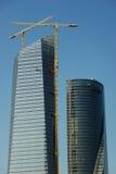 skyskrapa för konstruktionslokal Royaltyfria Bilder