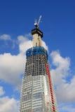 skyskrapa för konstruktionslondon skärva under Royaltyfri Bild