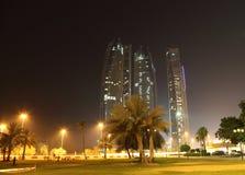 Skyskrapa i Abu Dhabi Arkivfoton