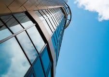 Skyskrapa i centra Royaltyfri Bild