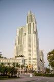 Skyskrapa i i stadens centrum Miami Arkivbild
