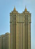Skyskrapa i Shenyang, Kina Royaltyfri Foto