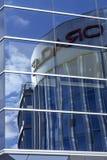Skyskrapa och nytt kontor i vilnius Royaltyfri Fotografi