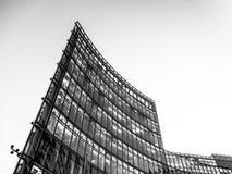 Skyskrapa - Potsdamer Platz royaltyfria bilder