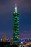 101 skyskrapa taipei Arkivbilder