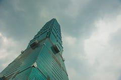 101 skyskrapa taipei Royaltyfri Foto