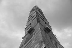 101 skyskrapa taipei Royaltyfri Bild