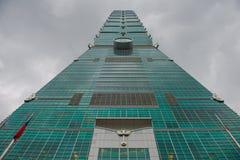 101 skyskrapa taipei Arkivfoton