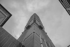 101 skyskrapa taipei Arkivfoto