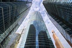 Skyskrapaaffärskontor Arkivfoton
