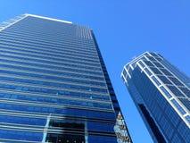 Skyskrapaaffärskontor, Calgary stadsmitt, Royaltyfria Foton