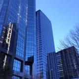 Skyskrapaaffärskontor, Calgary stadsmitt, Arkivfoton