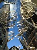 Skyskrapaaffärskontor, Calgary stadsmitt, Royaltyfri Foto