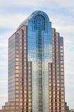 Skyskrapabyggnader i Charlotte NC Arkivbilder