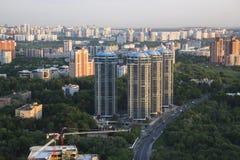 SkyskrapaCityscape Royaltyfria Foton