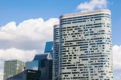 SkyskrapaCoeur försvar i Laförsvar, Paris, Frankrike Royaltyfri Bild