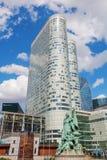 SkyskrapaCoeur försvar i Laförsvar, Paris, Frankrike Arkivbild