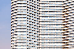 Skyskrapadesignen och 3d modellerar mitt eget Royaltyfri Foto