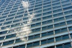 Skyskrapadetaljer Arkivfoton
