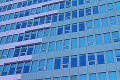 Skyskrapafönster Arkivfoto