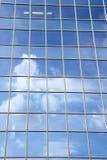 Skyskrapafasad Arkivfoton