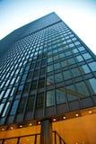 Skyskrapareflexion Fotografering för Bildbyråer