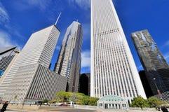 Skyskrapaställning, Chicago, Illinois Royaltyfria Bilder