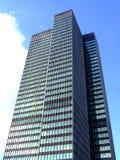 skyskrapasun Royaltyfri Foto