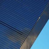 Skyskrapavägg Arkivbilder