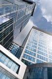 Skyskrapers del centro de negocios del International de Moscú fotografía de archivo