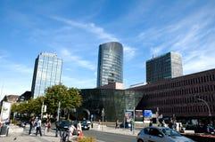 Skyskrapers in Dortmund Royalty Free Stock Photos