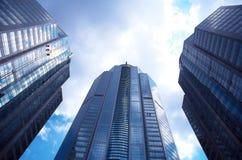 skyskrapor Royaltyfria Foton
