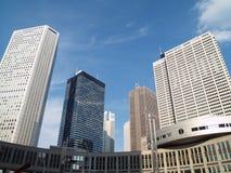 Skyskrapor. Arkivbilder