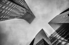 Skyskrapor Arkivfoton