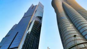 skyskrapor royaltyfri foto