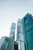 skyskrapor Royaltyfria Bilder