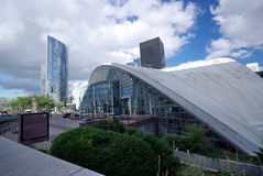 skyskrapor Arkivfoto
