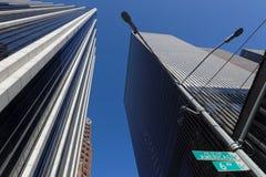 Skyskrapor av manhattan Arkivbild