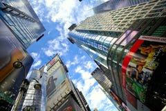 Skyskrapor av Times Square Fotografering för Bildbyråer