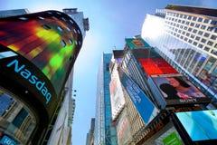 Skyskrapor av Times Square Arkivfoton