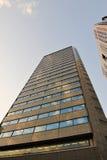 Skyskrapor från jordningen Fotografering för Bildbyråer