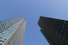 Skyskrapor höghus Royaltyfria Foton