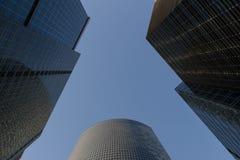 Skyskrapor höghus Arkivbilder
