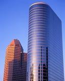 Skyskrapor Houston Fotografering för Bildbyråer