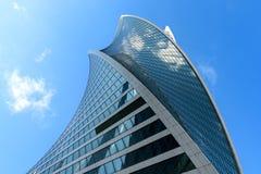 Skyskrapor i det finansiella området Fotografering för Bildbyråer