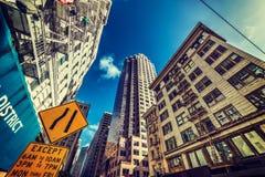 Skyskrapor i i stadens centrum San Francisco Royaltyfri Fotografi