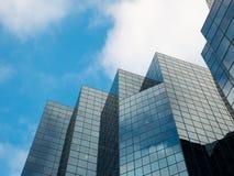 Skyskrapor i Montreal, Kanada fotografering för bildbyråer
