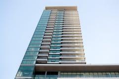 Skyskrapor i i stadens centrum Montreal Fotografering för Bildbyråer
